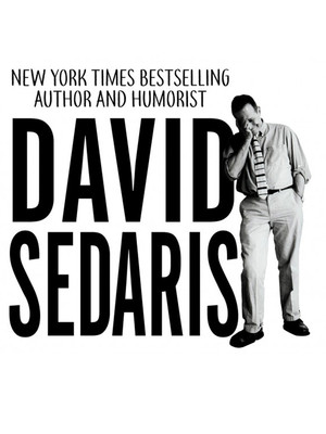 David Sedaris, Atwood Concert Hall, Anchorage